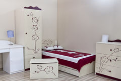 New and Clean Room for little Boy Stock Photo