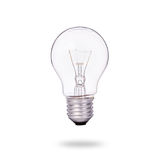 New clear home light bulbs. Studio shot isolated on white Royalty Free Stock Image