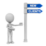 New clients Royalty Free Stock Image