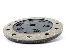 New Clutch. Single Dry Clutch Isolated on White Stock Photography