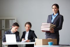 New co-worker Stock Image