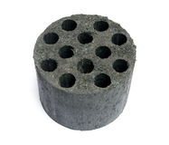 New coal briquette Stock Photos