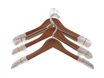 New coat hangers Stock Photos