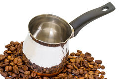 New coffee pot Royalty Free Stock Images