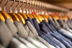 A new collection of cloths stock images