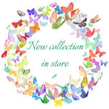 New collection marketing poster, banner, promotion Royalty Free Stock Images