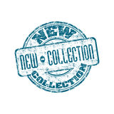 New collection rubber stamp Royalty Free Stock Image