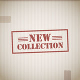 New Collection Stamp Royalty Free Stock Images
