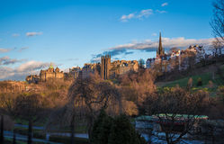 New College on the Mound Edinburgh Royalty Free Stock Photo