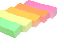New color index paper Royalty Free Stock Photo