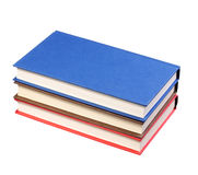 New Colorful Books isolated on white Stock Photo