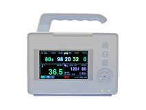 New colorful cardiovascular portable monitor Stock Photography