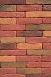 New colorful decorative brick wall Royalty Free Stock Photography