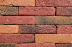 New colorful decorative brick wall Stock Photo