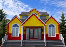 New Colorful House Stock Photos