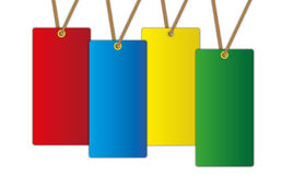 The new colorful label price tag. Stock Photography