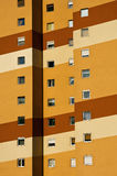 New colors of a panel house Royalty Free Stock Photography