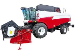 Free New Combine Harvester Royalty Free Stock Photography - 115462347