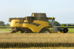 New Combine harvester Stock Images
