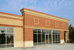 New Commercial Building. In Final Phase of Construction Royalty Free Stock Images