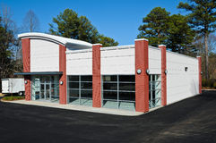 New Commercial Building. Available for sale or lease Stock Photos
