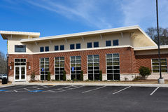 New Commercial Building. With Office Space available for sale or lease Stock Image