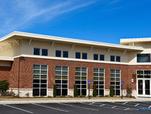 New Commercial Building. With Retail and Office Space available for sale or lease Royalty Free Stock Photography