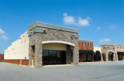 New Commercial Building Royalty Free Stock Photos