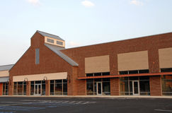 New Commercial Building Space Stock Image