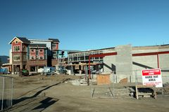 New Commercial Construction Stock Photography