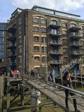 New Concordia Wharf apartments Royalty Free Stock Images
