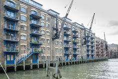 New Concordia Wharf, London. Royalty Free Stock Photography