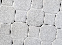 New concrete blocks for paving Stock Photos