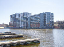 A new condo on the banks of the Milwaukee River in the 3rd District. Stock Photo