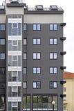 Condo building. New condo building with gray exterior Royalty Free Stock Photos