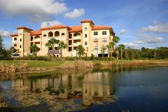 New Condo Building in Tropics Stock Photography