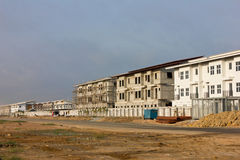 The new condo development construction. Building Apartment Stock Images