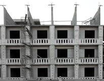 The new condo development construction. Building Apartment Royalty Free Stock Photos