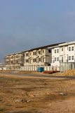 The new condo development construction Royalty Free Stock Photo