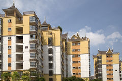 New condo. In south of China background royalty free stock image