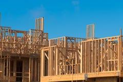 New Condominium or apartment construction Stock Images