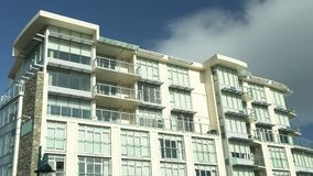 New Condominium Building Stock Photo