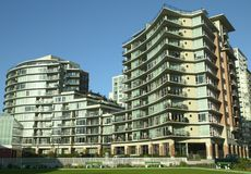 New Condominium Victoria BC Royalty Free Stock Photography