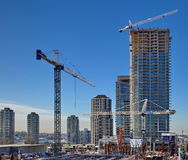 New Consnruction In Burnaby City Stock Photography