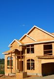 New Construction. Home in process of being built royalty free stock photos