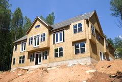 New Construction/ Basement Stock Photography