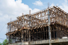 New construction building Stock Image