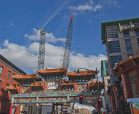 New Construction in Chinatown--Washington, D.C. Royalty Free Stock Image