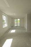 New construction empty room interior Stock Images