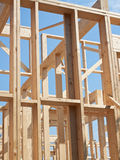 New construction of framework. Royalty Free Stock Photo
